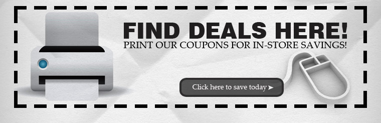 Click here to print coupons for in-store savings!