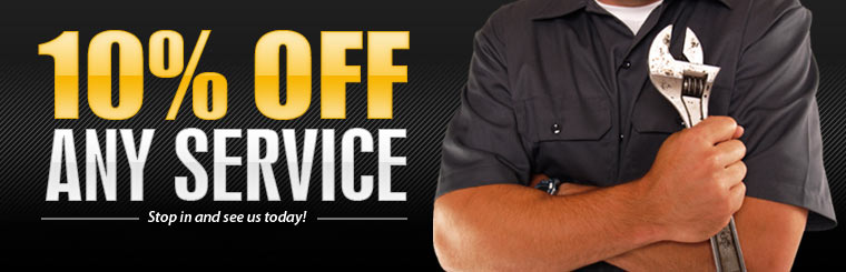 Get 10% off any service! Click here for the coupon.