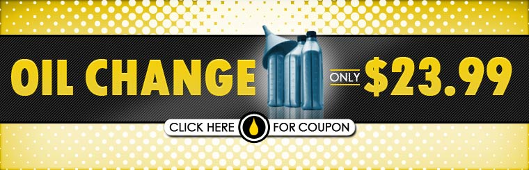 Get an oil change for only $23.99! Click here for the coupon.