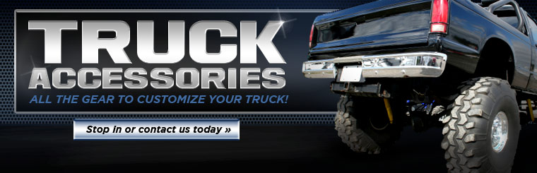 Click here to contact us about customizing your truck.