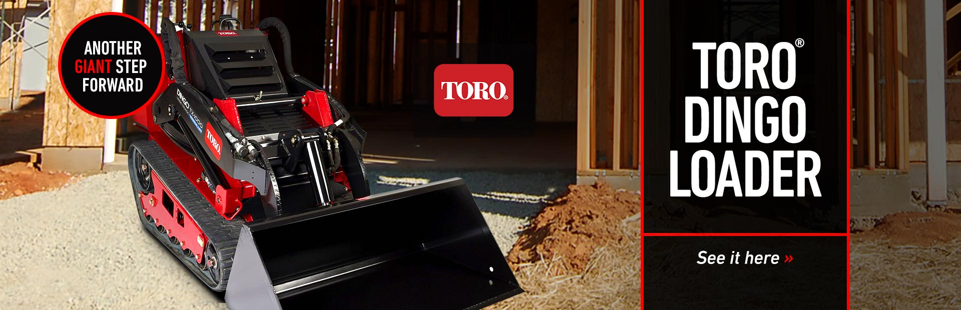 Toro Dingo Loaders: Click here to view the models.