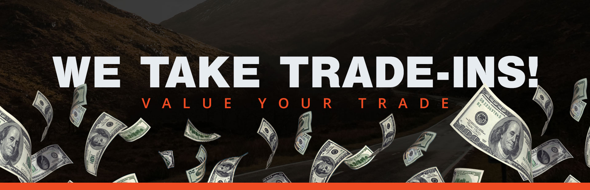 We take trade-ins! Click here to value your trade.