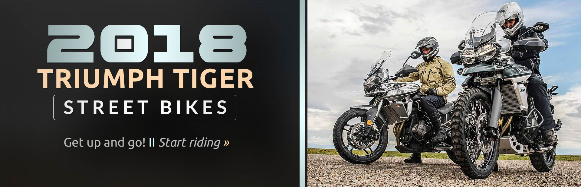 2018 Triumph Tiger Street Bikes: Click here to view the models.