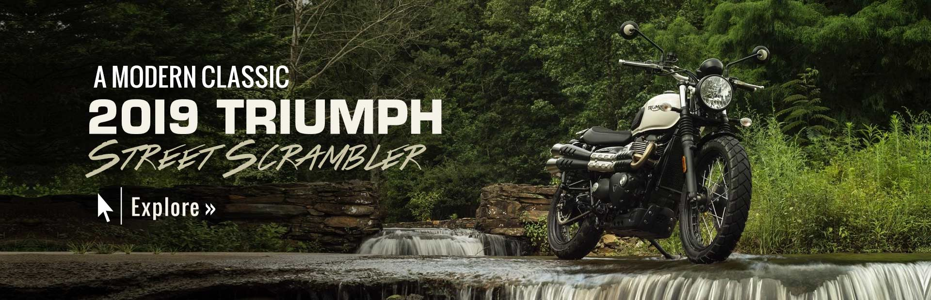 2019 Triumph Street Scrambler: Click here to view the model.