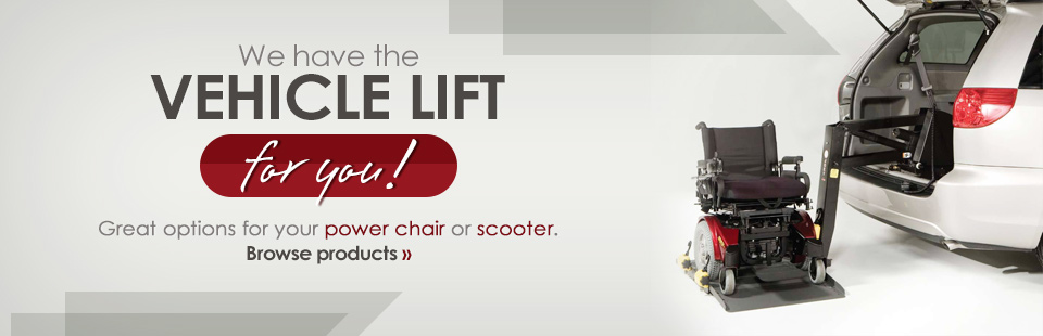 We have the vehicle lift for you! Click here to browse our selection.