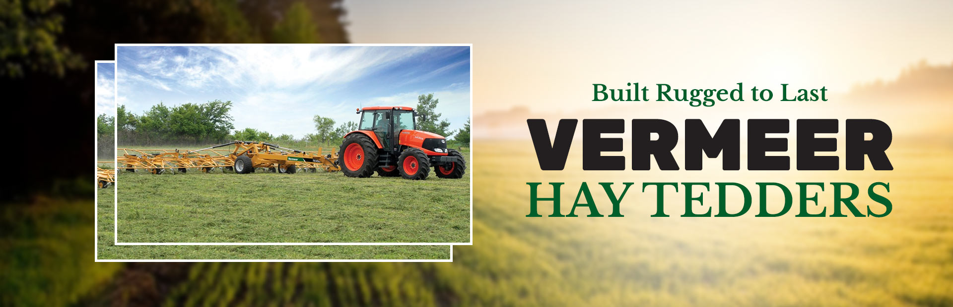 Vermeer Hay Tedders: Click here to view the models.