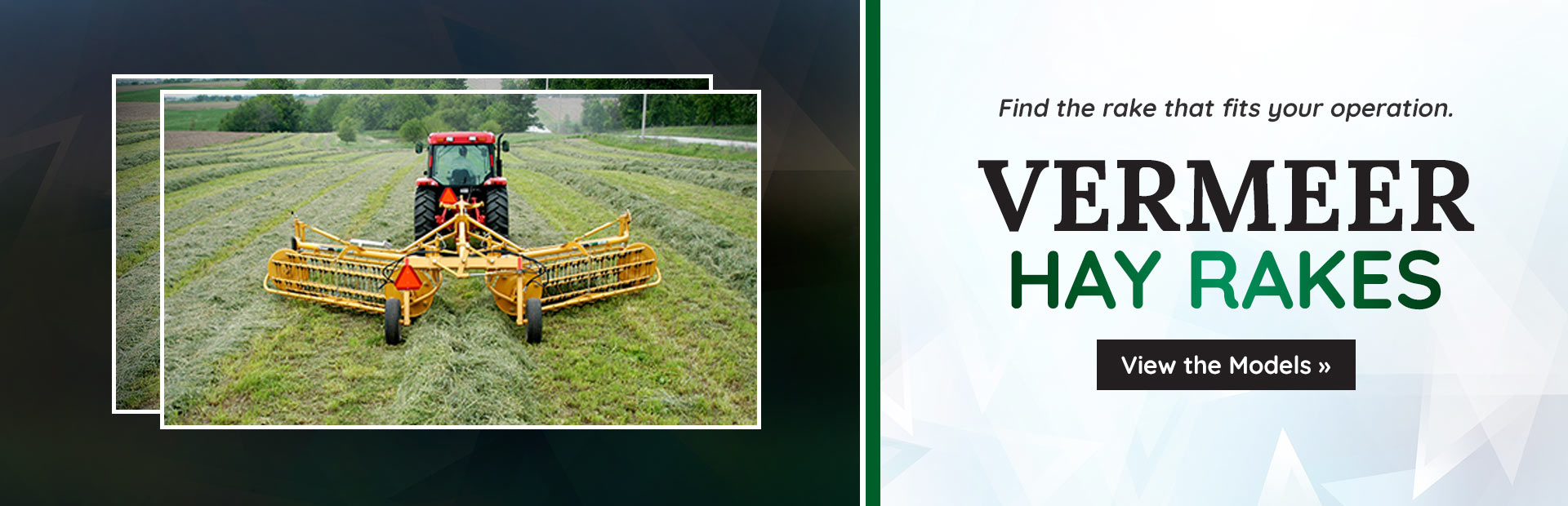 Vermeer Hay Rakes: Click here to view the models.