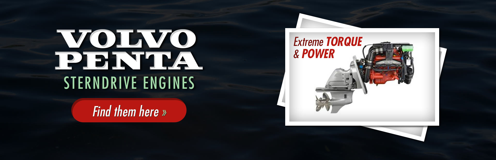 Volvo Penta Sterndrive Engines: Click here to view the models.