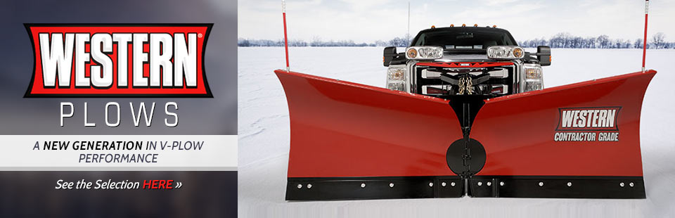 Western offers a new generation in V-plow performance. Click here to see our selection.
