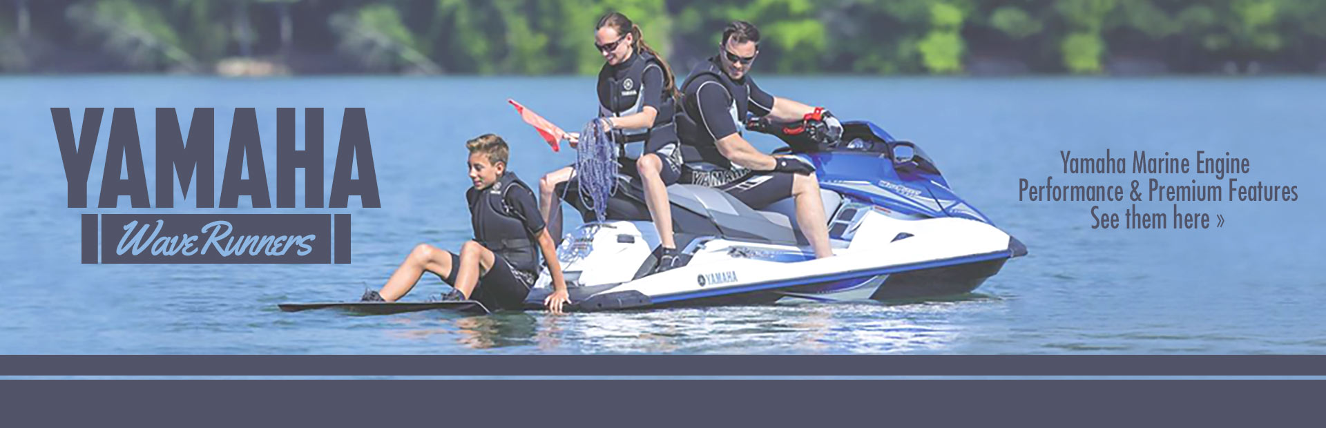 Yamaha WaveRunners: Click here to view the models.