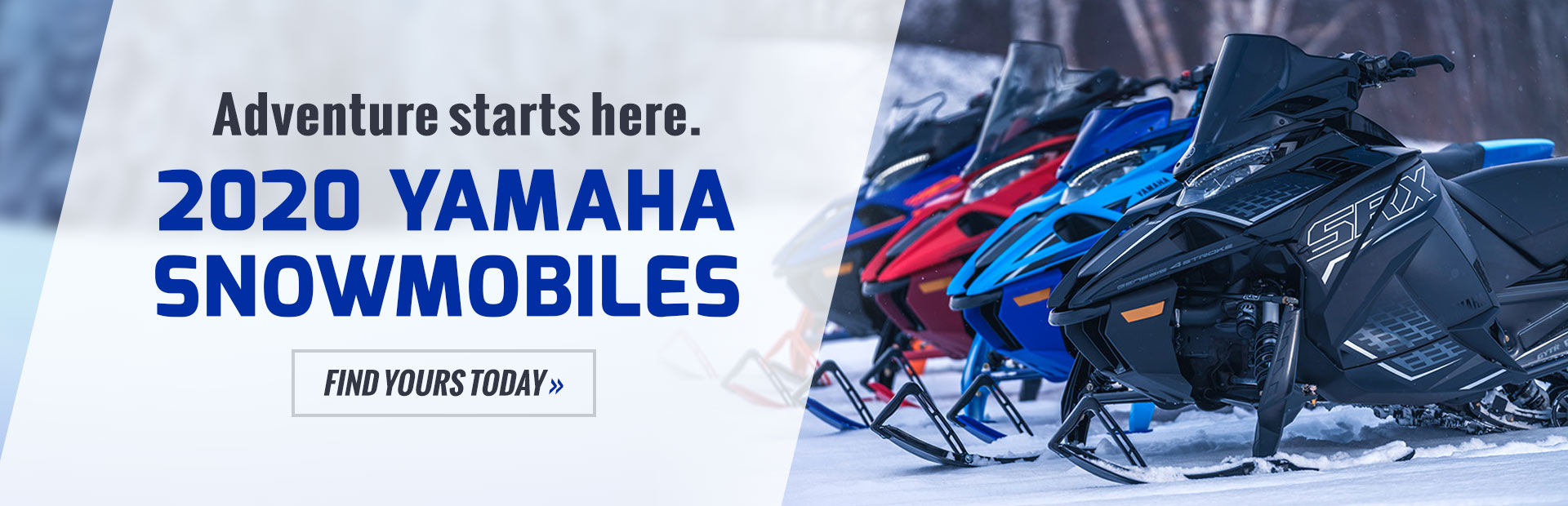 2020 Yamaha Snowmobiles: Click here to view the models.