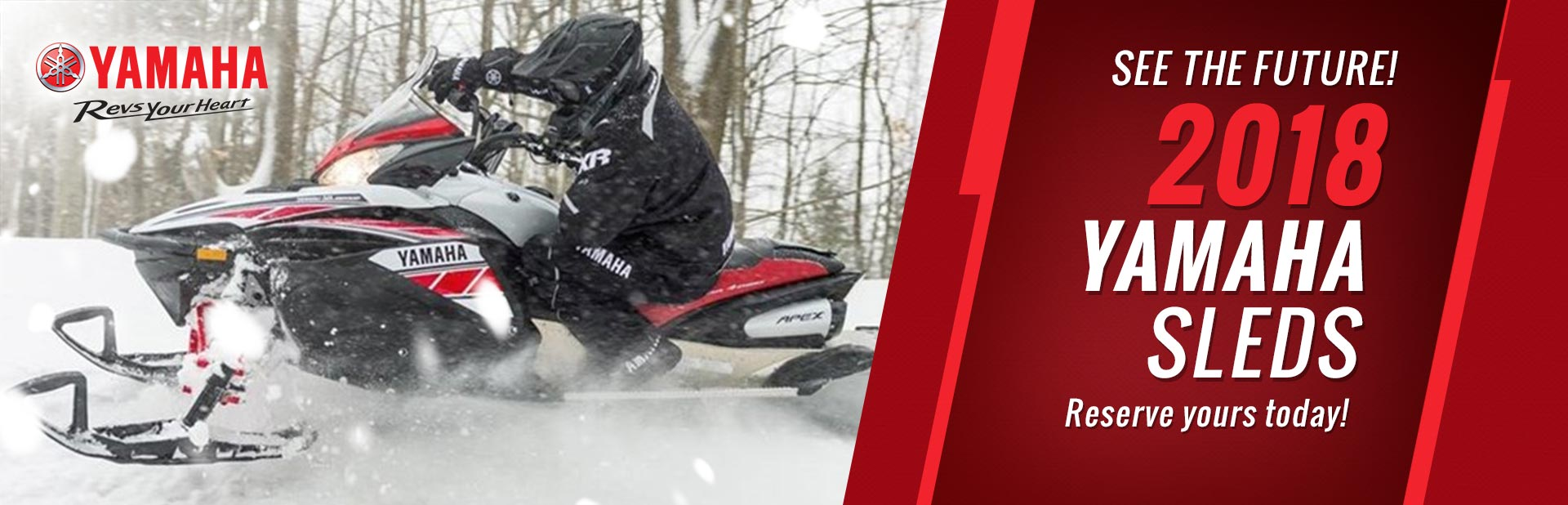 2018 Yamaha Sleds: Click here to view the models.