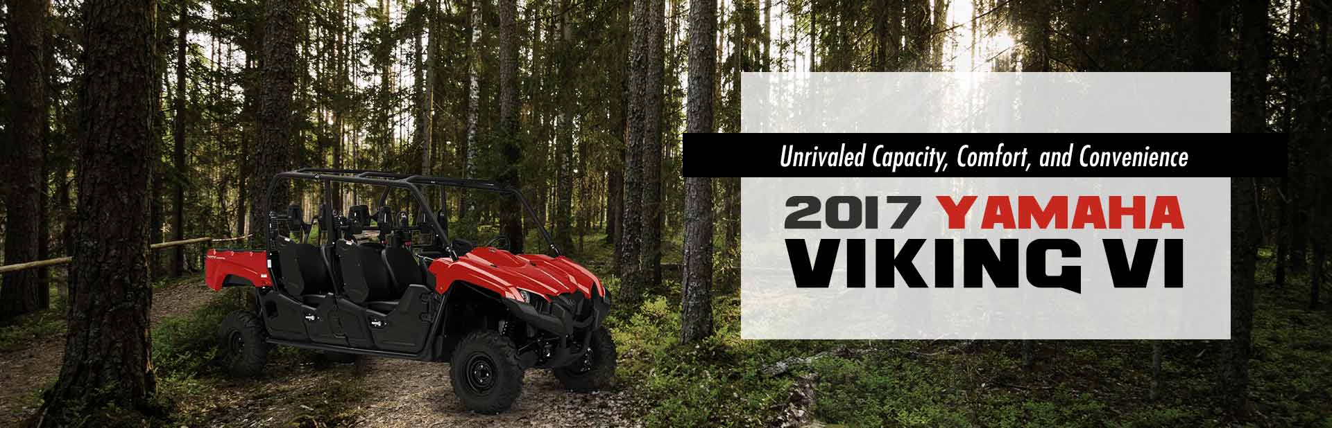 2017 Yamaha Viking VI: Click here to view the models.