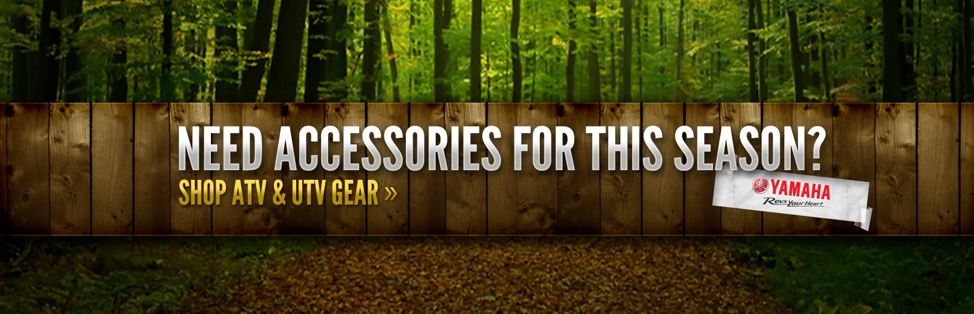 Need accessories for this season? Click here to shop ATV and UTV gear!