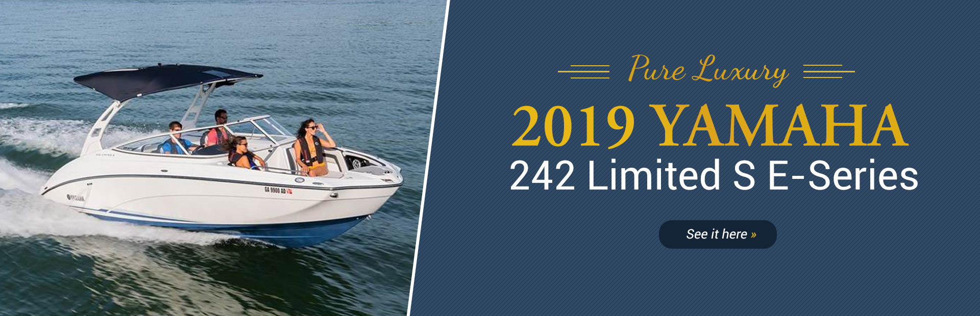 2019 Yamaha 242 Limited S E-Series: Click here to view the model.