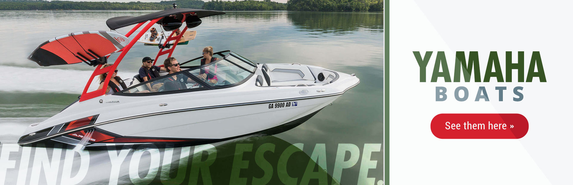 We sell and service boats including Bayliner, Yamaha Jet