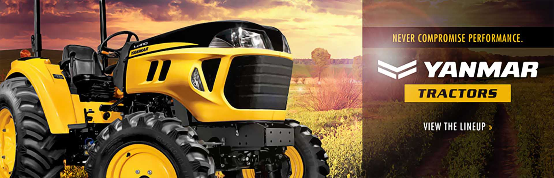 Yanmar Tractors: Click here to see the lineup!