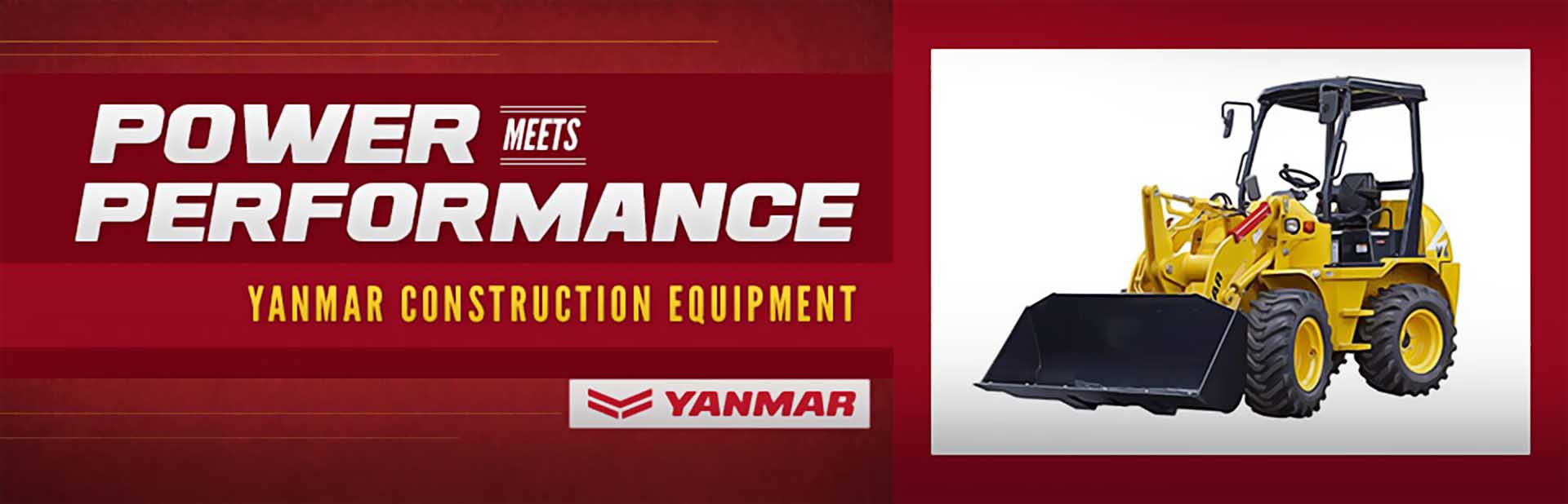 Yanmar Construction Equipment: Click here to view the models.