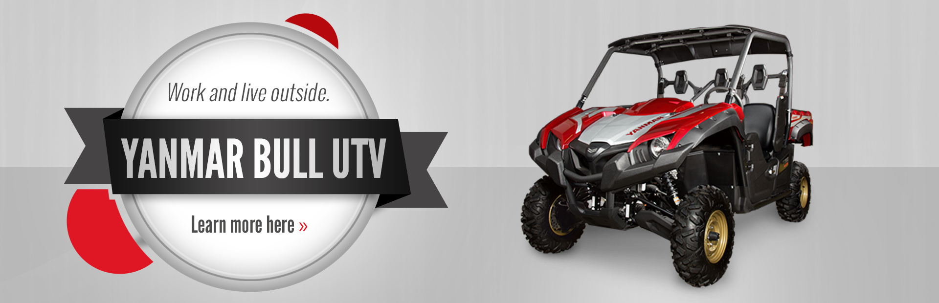 Yanmar Bull UTV: Click here to see the models.