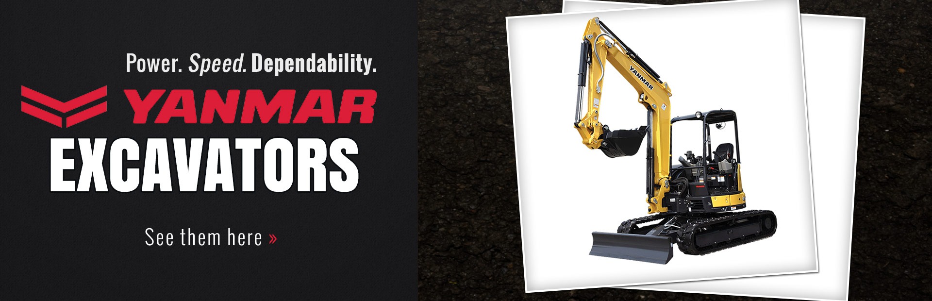 Yanmar Excavators: Click here to view the models.