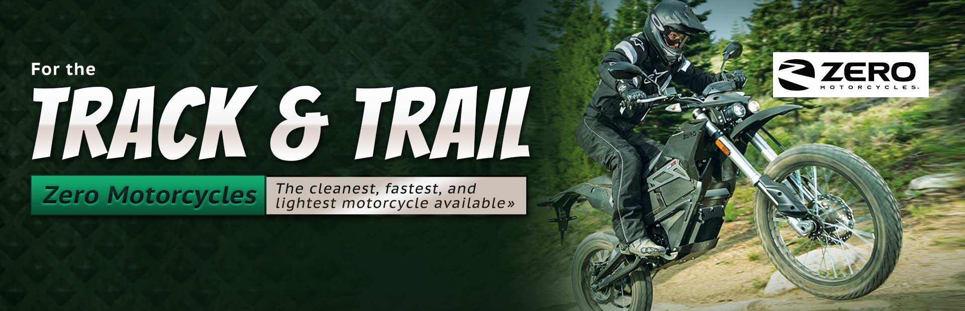 Click here to view dirt bikes from Zero Motorcycles.