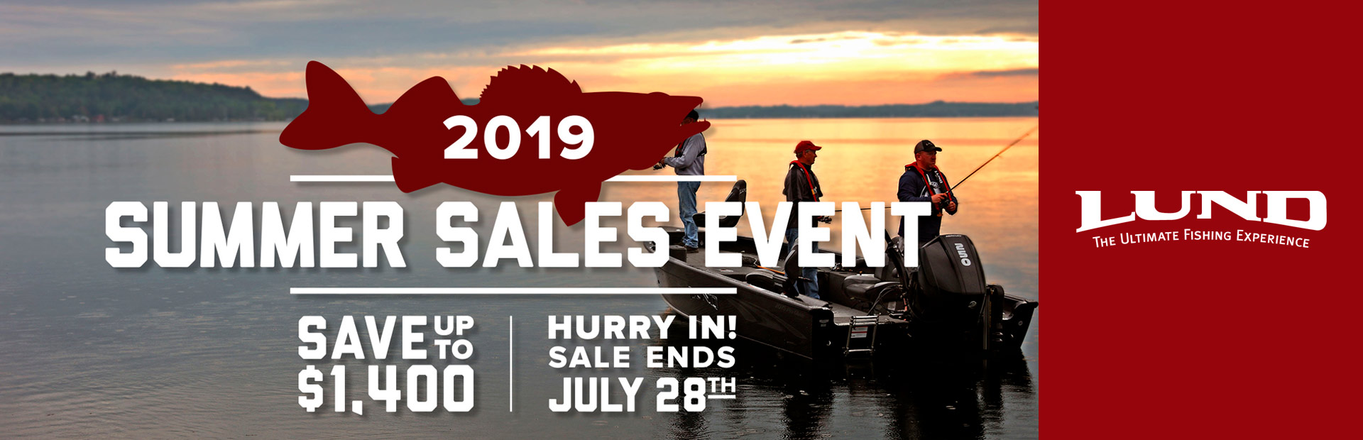 Lund: 2019 Summer Sales Event