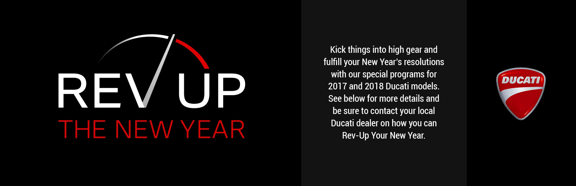 Ducati: Rev Up The New Year