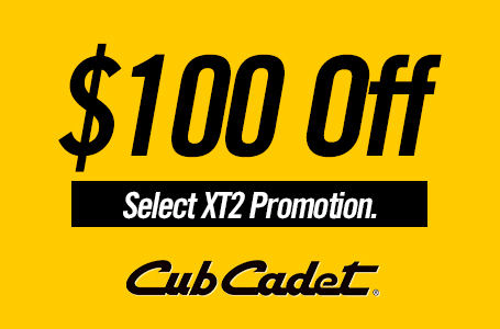 $100 Off Select XT2 Promotion