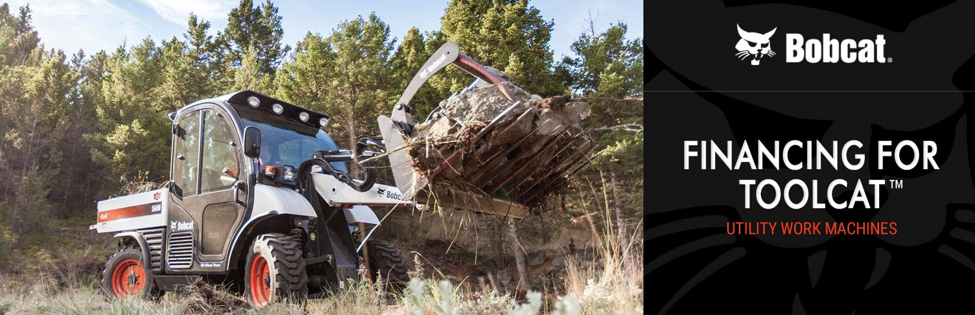 Bobcat: Financing for Toolcat™ Utility Work Machines