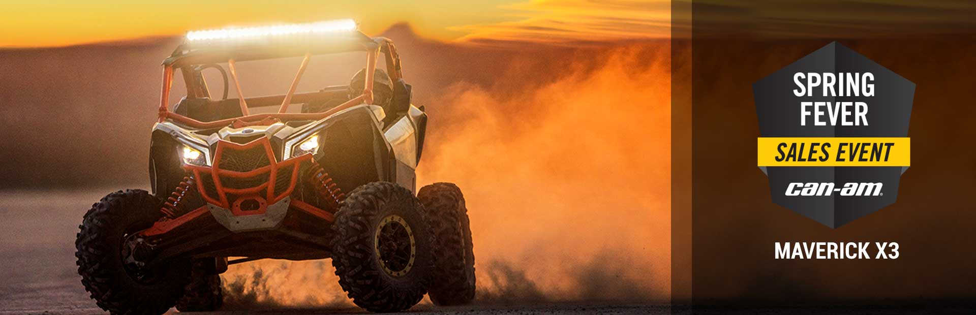 Can-Am: Spring Fever Sales Event (Maverick X3)