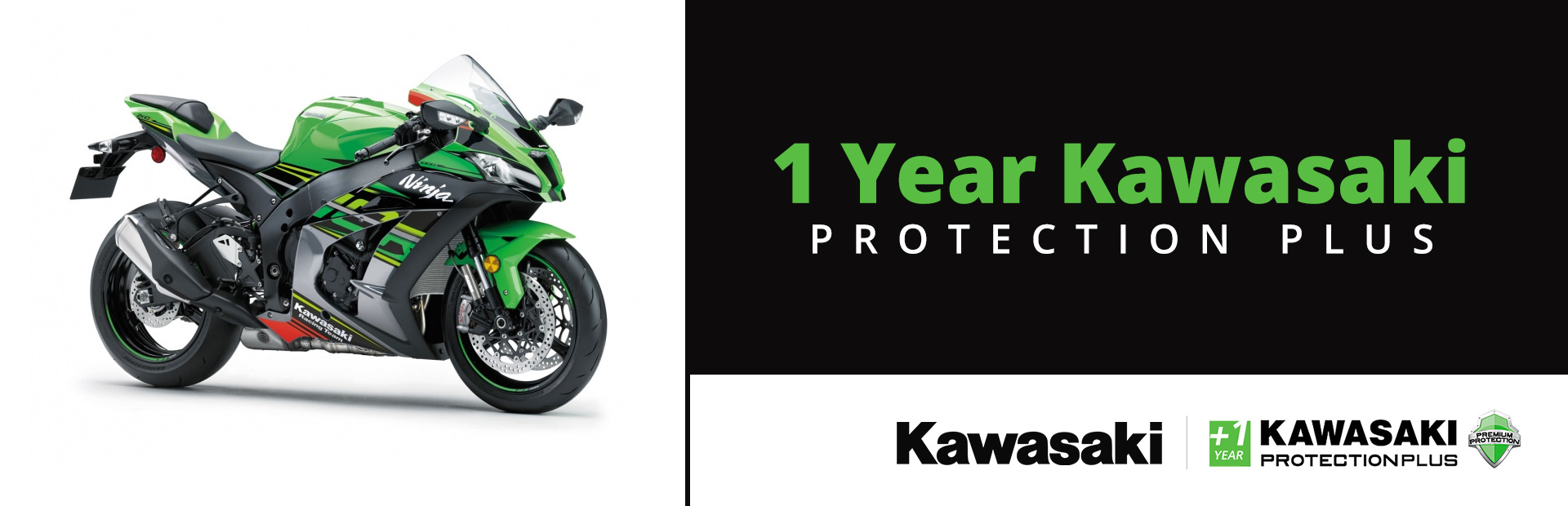 Kawasaki: 1 Year Kawasaki Protection Plus