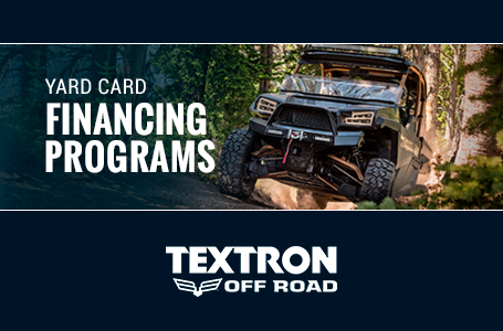 Textron Off Road – Yard Card Financing Programs