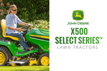 X500 Select Series™ Lawn Tractors