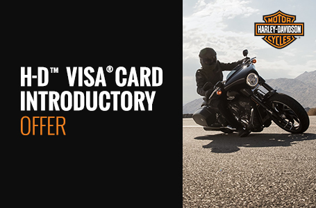 H-D™ Visa® Card Introductory Offer