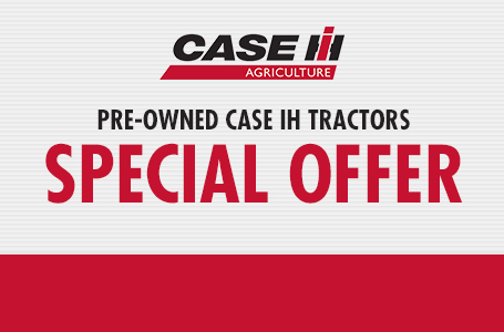 Pre-Owned Case IH Tractors Special Offer