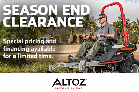 Season End Clearance - Commercial/Professional