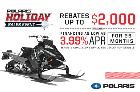 Polaris Holiday Sales Event - Snow