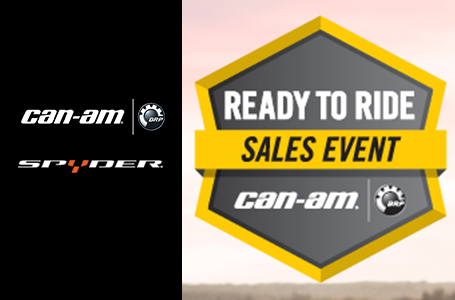 Ready to Ride Sales Event - 2017 Models (Spyder)