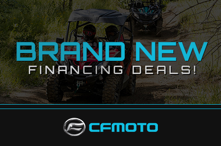 Brand New CFMOTO Financing Deals