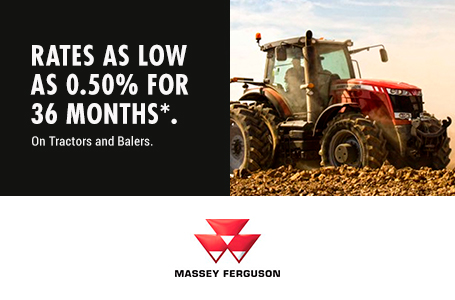 0.50% for 36 Months on Tractors and Balers