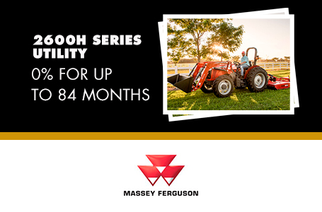 2600H Series Utility - 0% for up to 84 Months