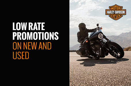 Low Rate Promotions on New and Used