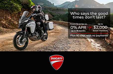 Special Offers from Ducati
