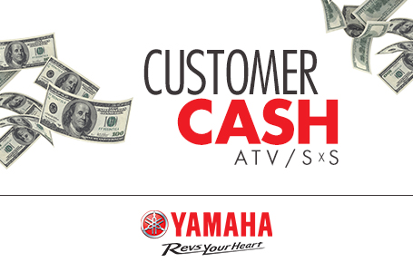 Customer Cash (ATV/SxS)