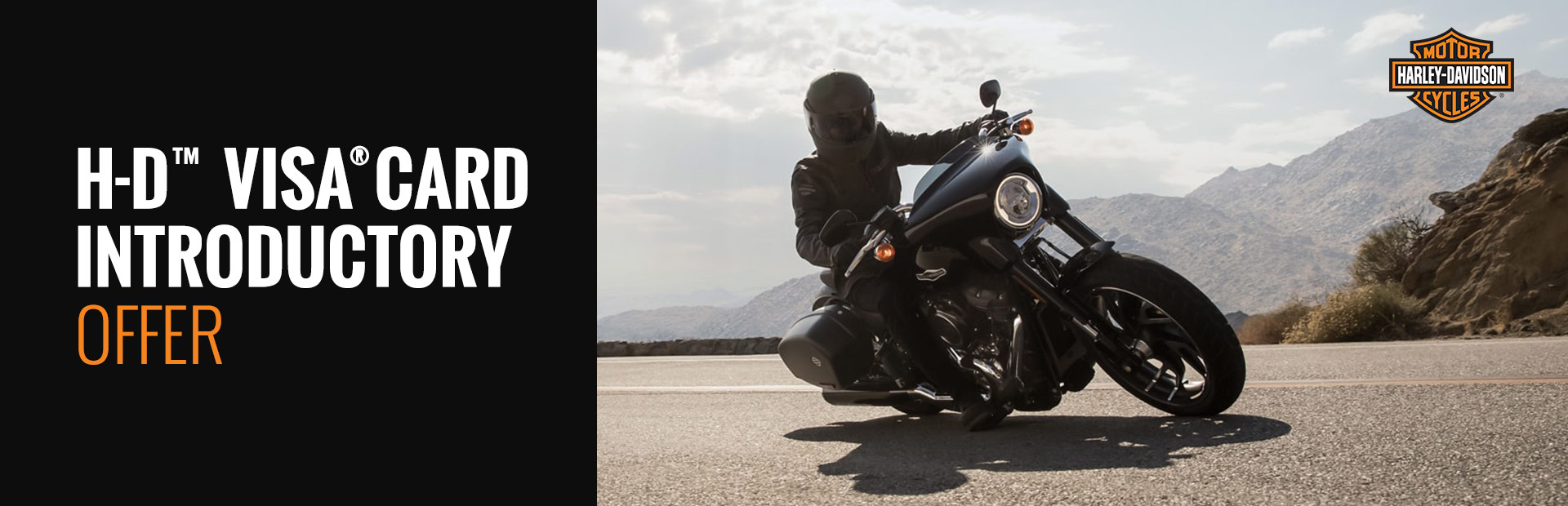 Harley-Davidson®: H-D™ Visa® Card Introductory Offer