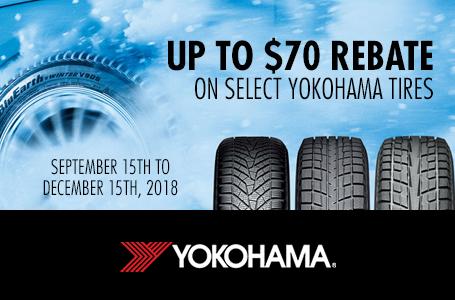 Tillsonburg Tire Auto Service Current Promotion For Yokohama Up