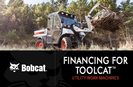 Financing for Toolcat™ Utility Work Machines