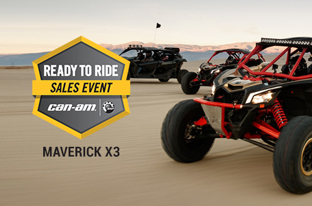 Ready to Ride Sales Event - MAVERICK X3
