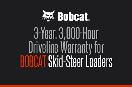 3Yr 3kHr Driveline Warranty for Skid Steer Loaders