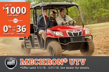 Mechron UTV Rebate